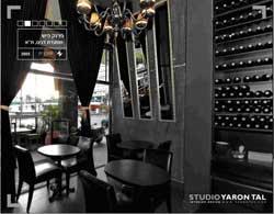 מסעדת פרנק פיש מראות בחדר VIP
